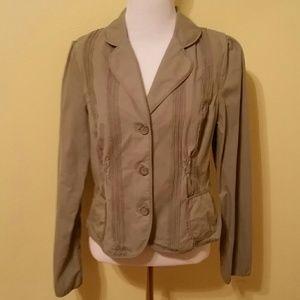 Apt. 9 Cotton Blazer Size 12